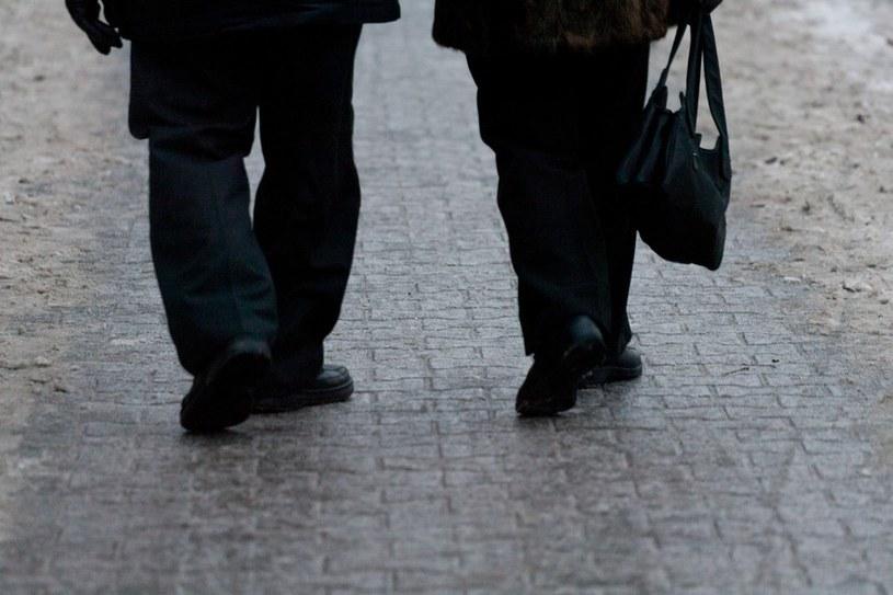Synoptycy ostrzegają przed gołoledzią i zamieciami. /Krystian Maj /Reporter