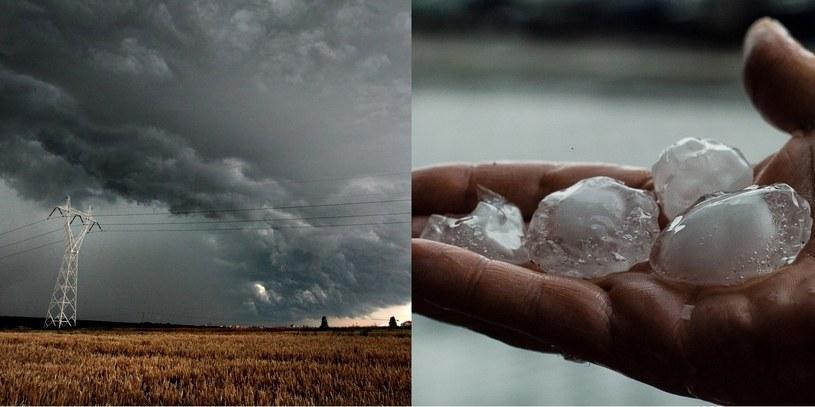 Synoptycy ostrzegają przed gwałtownymi burzami z gradobiciami, fot. Jakub Orzechowski, Piotr Grzybowski /East News