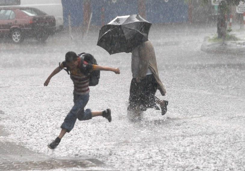 Synoptycy ostrzegają przed ulewami /Kuba Suszek /Reporter
