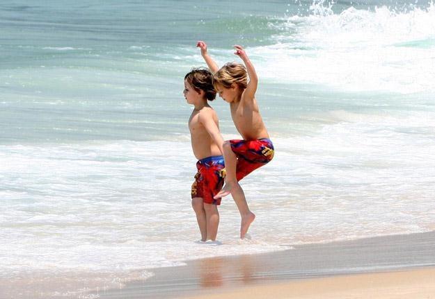 Synowie Britney Spears na wakacjach w Rio de Janeiro - fot. Photo Rio News / Splash News /East News