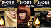 SYOSS: 100% czyste olejki. 100% kolor. 0% amoniaku