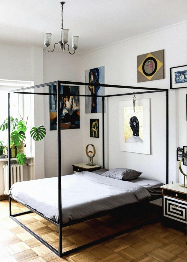 Sypialnia Michała Szpaka /Instagram /materiał zewnętrzny