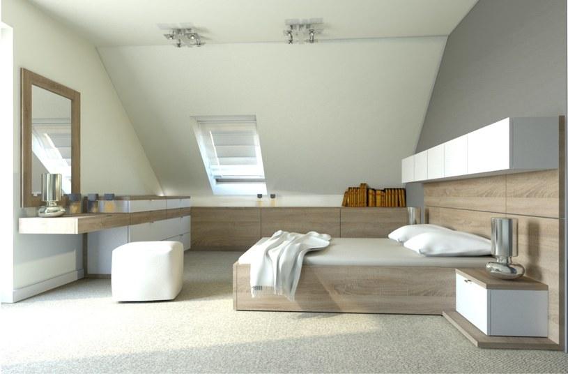 Sypialnia na poddaszu /materiały prasowe