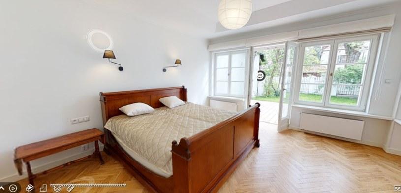 Sypialnia po remoncie /materiał zewnętrzny