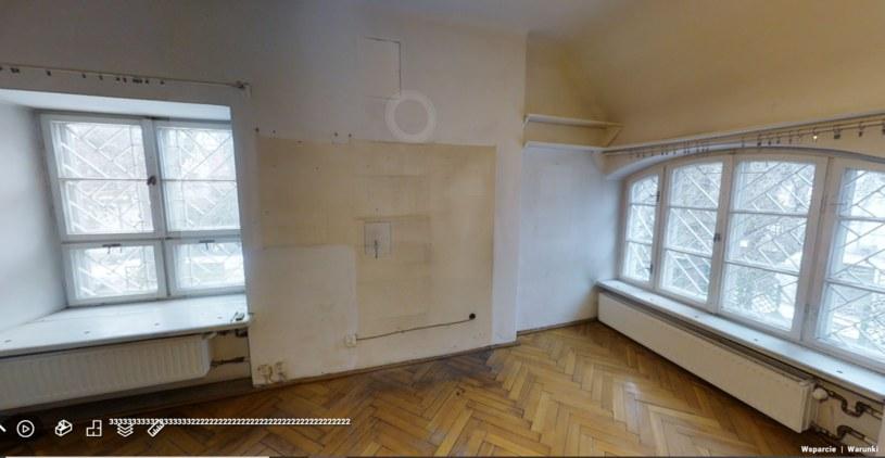 Sypialnia przed remontem /materiał zewnętrzny