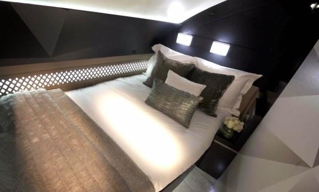 Sypialnia w Airbusie A-380 /materiały prasowe