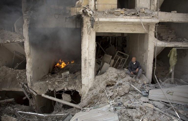 Syria, Aleppo /AFP