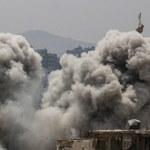 Syria: Naloty sił koalicji w celu zatrzymania konwoju dżihadystów