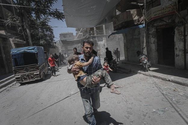 Syria: Nasilają się walki o Idlib. 83 ofiary śmiertelne w ciągu 2 dni /AA/ABACA /PAP