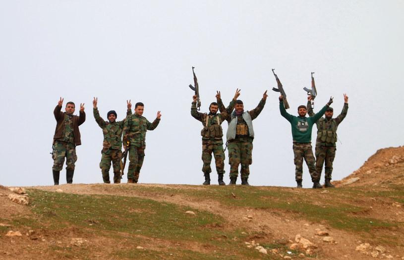 Syria, siły rządowe /AFP