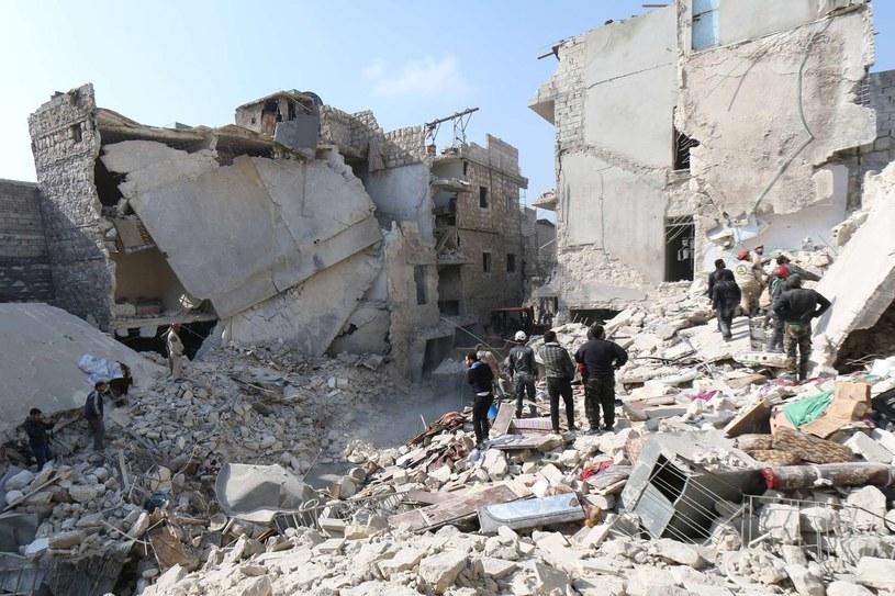 Syria, zniszczone w czasie wojny miasto Aleppo /AFP
