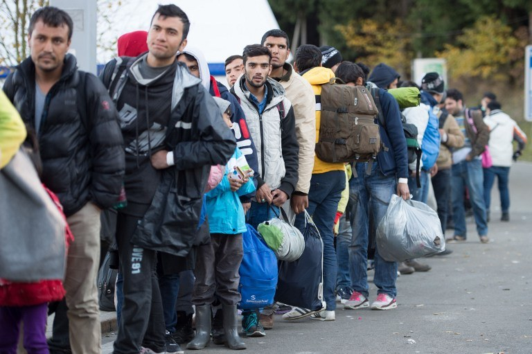Syryjczycy są najliczniejszą grupą imigrantów w Niemczech /AFP