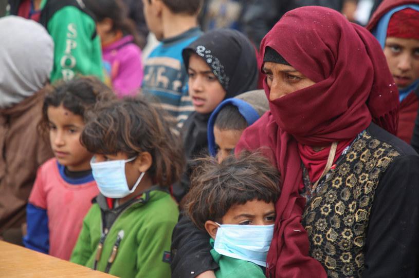 Syryjczycy w obozie dla uchodźców /Mohammed AL-RIFA /AFP