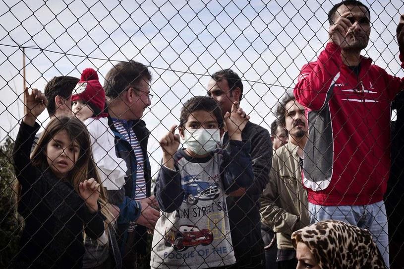 Syryjscy migranci; zdj. ilustracyjne /AFP