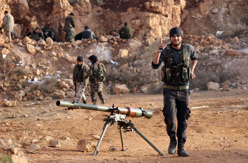 Syryjscy rebelianci / zdj. ilustracyjne /AFP