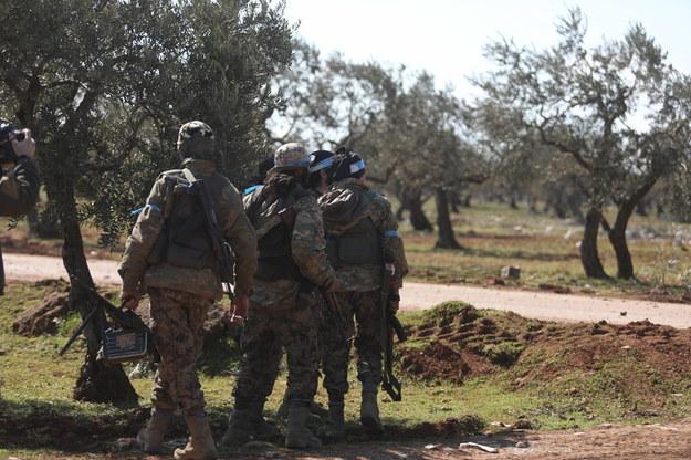 Syryjscy rebelianci /YAHYA NEMAH /PAP/EPA