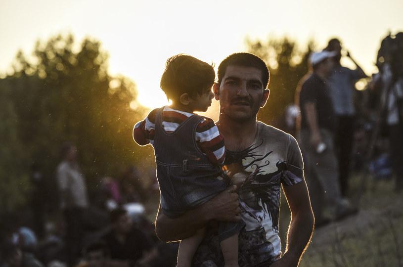 Syryjscy uchodźcy w drodze do Bułgarii /AFP