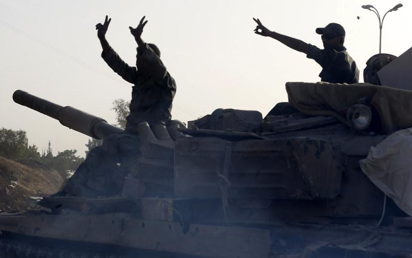 Syryjscy żołnierze, zdj. ilustracyjne /LOUAI BESHARA /AFP
