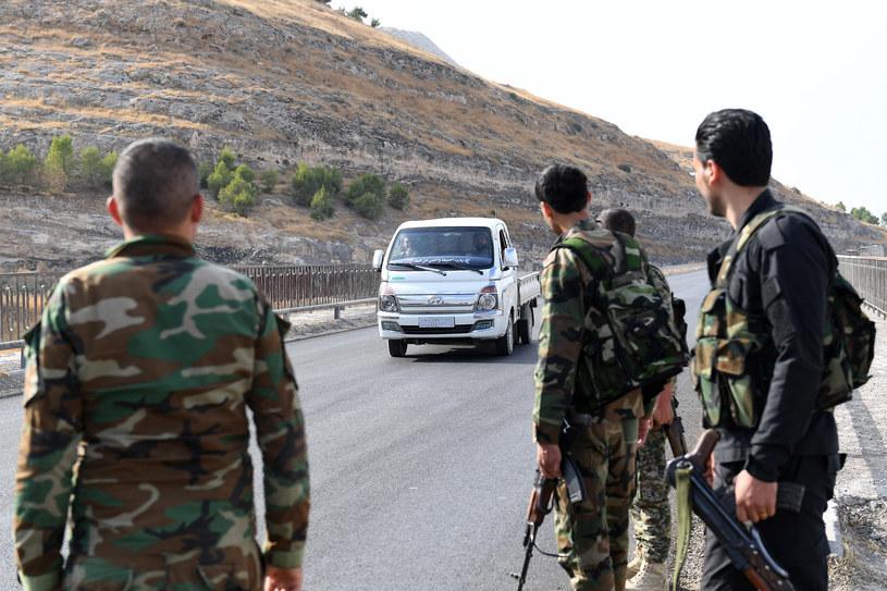 Syryjscy żołnierze; zdj. ilustracyjne /QARAH QAWZĀQ /AFP
