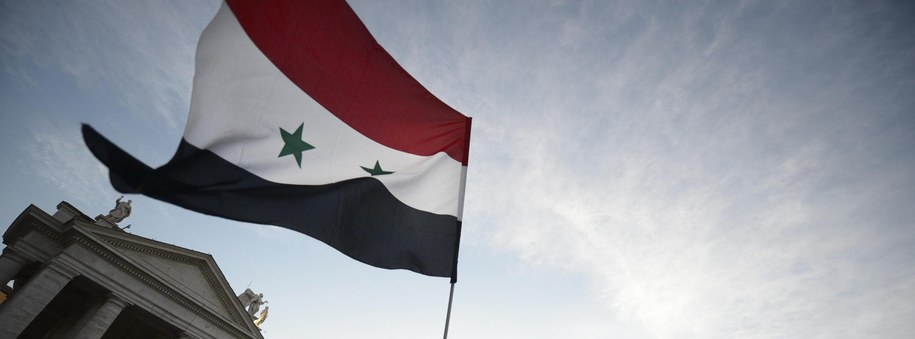 Syryjska flaga [zdj. ilustracyjne] /PAP/ EPA/GUIDO MONTANI  /PAP/EPA