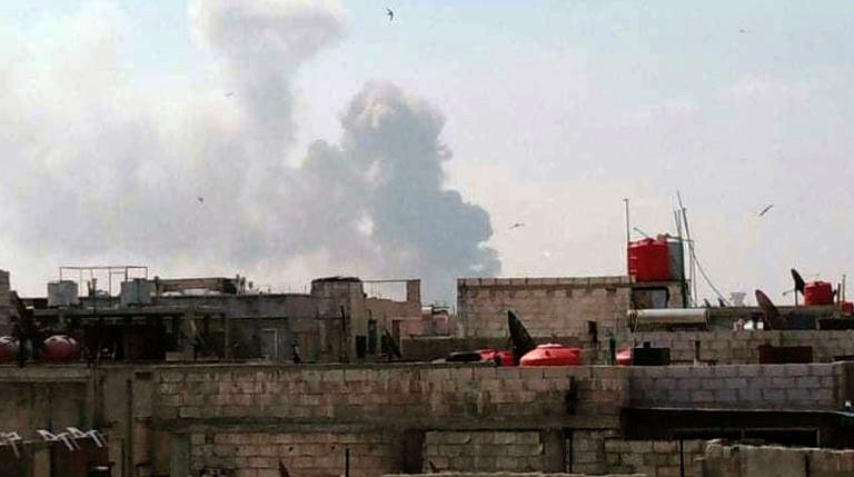 Syryjska obrona przeciwlotnicza udaremniła dwa izraelskie ataki z powietrza (zdj. ilustracyjne) /SANA /AFP
