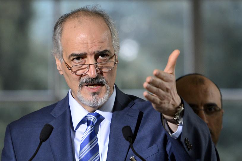 Syryjski ambasador przy ONZ Baszar Dżafari /AFP