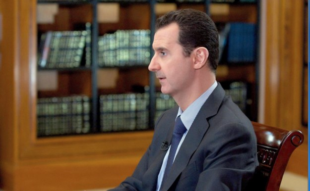 Syryjski dyktator Baszar el-Asad /SANA / HANDOUT /PAP/EPA