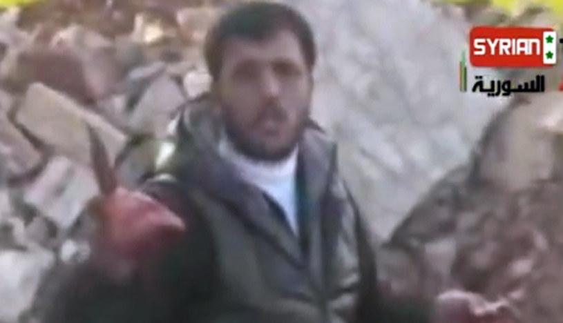 """""""Syryjski kanibal"""" Abu Sakkar nie żyje /AFP"""