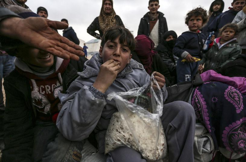Syryjski uchodźca w obozie w Aleppo / zdj. ilustracyjne /AFP