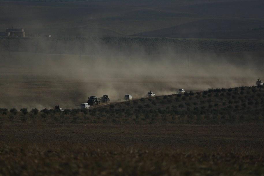 Syryjskie Siły Demokratyczne to sojusz zbrojny, któremu przewodzą Kurdowie /DIHA /PAP/EPA