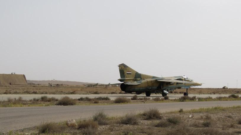 Syryjskie siły powietrzne, zdjęcie ilustracyjne /AFP