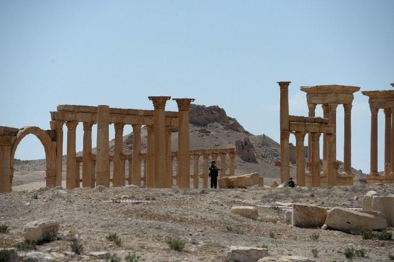 Syryjskie wojska weszły do Palmiry /AFP