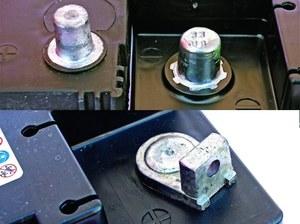 System DIN 1 (u góry z prawej), DIN 2 (u góry z lewej) oraz Ford 19 (u dołu). /Motor