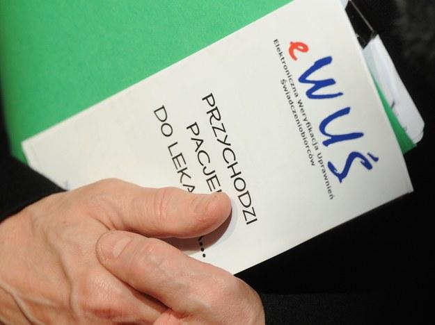 System eWUŚ zacznie obowiązywać od 1 stycznia 2013 roku /Grzegorz Jakubowski /PAP