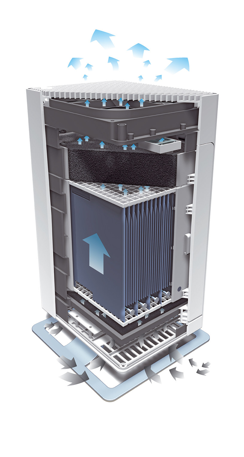 System filtrów zamotowany w Stadler Form Viktor /materiały prasowe
