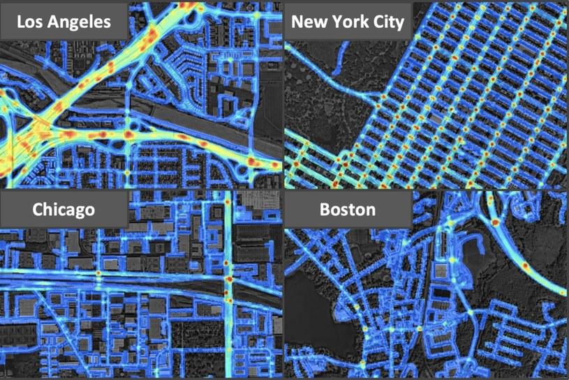System głębokiego uczenia przewiduje przyszłe zdarzenia drogowe /materiały prasowe