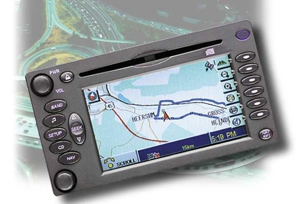 System nawigacji Delphi (kliknij) /INTERIA.PL