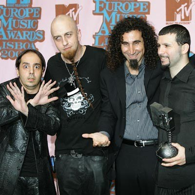 System Of A Down /AFP