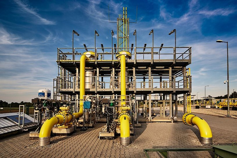 System przesyłowy gazu. /GAZ-SYSTEM S.A. /&nbsp