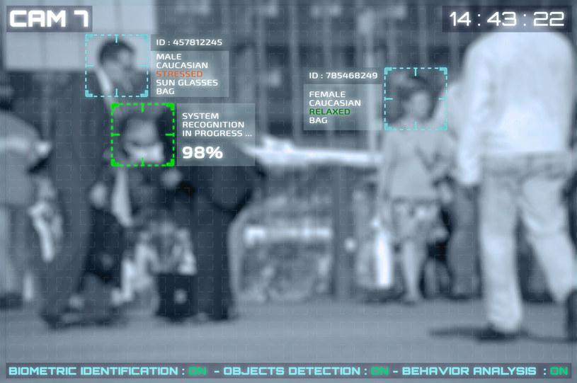 System rozpoznawania twarzy, zdjęcie ilustracyjne. /pixinoo /123RF/PICSEL