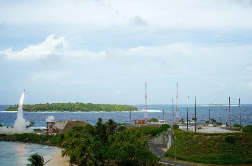 System THAAD na Wyspach Marschalla /AFP