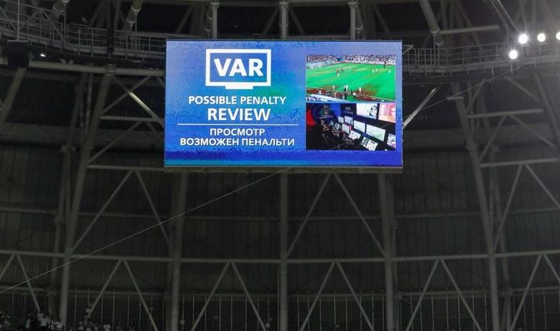 System VAR sprawdził się na mundialu w Rosji /PAP/EPA