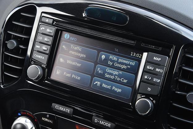 System w Nissanie Juke /