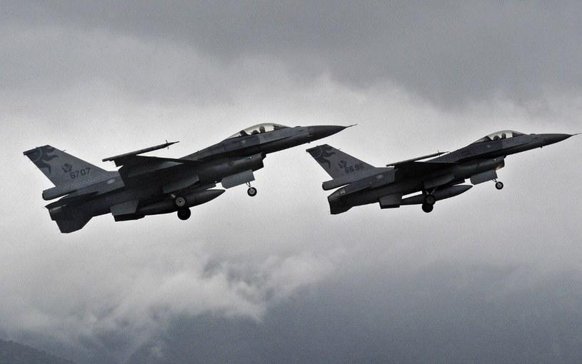 System wbudowany w F-16 uratował pilotów /AFP