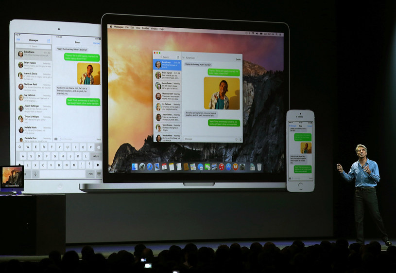 Systemy operacyjne Apple nie są wolne od luk bezpieczeństwa /AFP