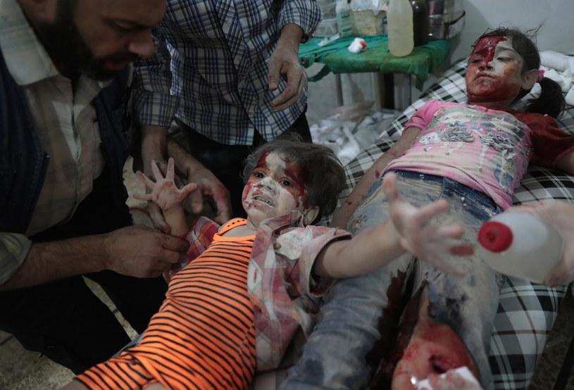 Sytuacja dzieci w Aleppo jest dramatyczna /Abd Doumany /AFP