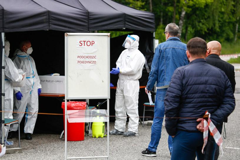 Sytuacja epidemiologiczna na Śląsku jest opanowana - twierdzi Ministerstwo Zdrowia /Tomasz Kawka /East News