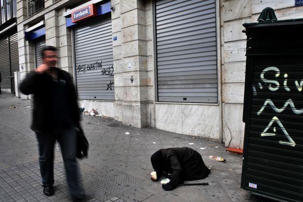 Sytuacja gospodarcza Grecji jest gorsza niż przewidywano /AFP