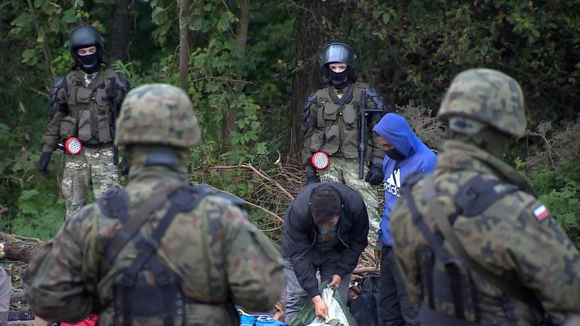 Sytuacja na granicy polsko-białoruskiej /Polsat News