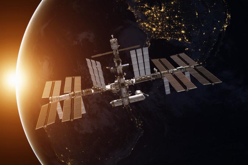 Sytuacja na ISS po zadokowaniu Nauki była poważna /123RF/PICSEL